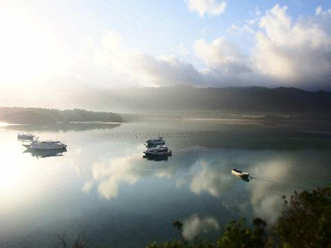 早朝の石垣島「川平湾」で絶景に出会った!