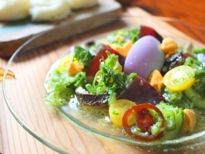 野菜たっぷり魚介のマリネ「セビーチェ」で夏ごはん