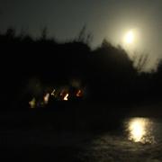 満月イブのビーチパーリー #根本きこの島ごはん