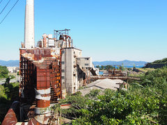 島全体がほぼ廃墟? 九州最後の炭鉱島「池島」へ