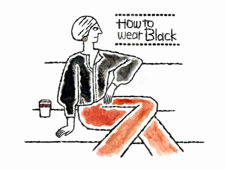 つい黒ばかり着てしまう人へ、今年らしい黒の着こなし方【Enjoy Fashion!】
