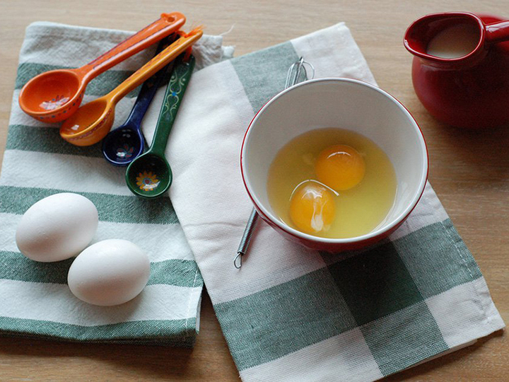 人気レシピ5にトライ!一番最高にふわふわになったスクランブルエッグは?