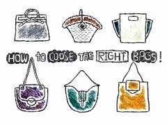 日常使いできる理想のバッグの探し方、選び方【Enjoy Fashion!】