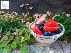 おいしい腸活に。手作りフルーツグラノーラのココヨーグルトパフェ