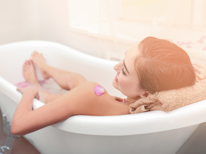 お風呂上りのポカポカが持続する効果的な日本酒風呂の入り方