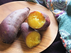 フライパンで簡単おいしい焼き芋の作り方