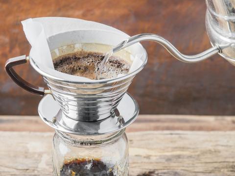 植物がすくすく育つコーヒー豆からできた肥料