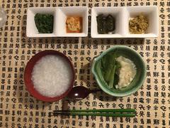 今夜の献立は中華風おかゆと水餃子のセット【こぐれひでこの「ごはん日記」】