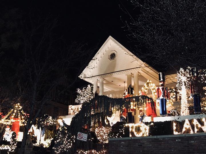 我が家のクリスマスツリーとDyker Hights