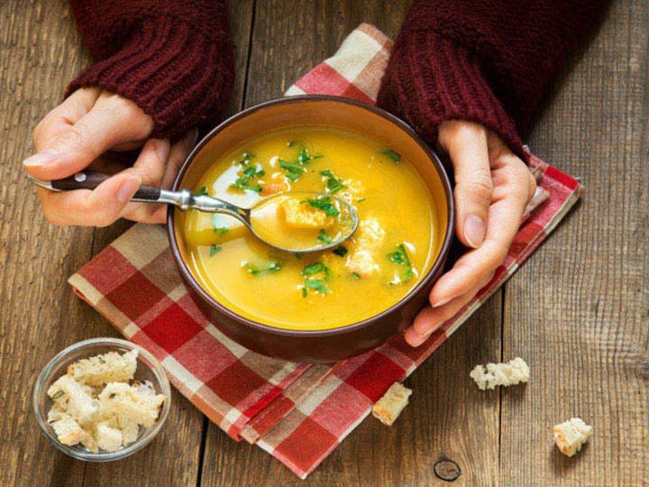 温朝食の新習慣で冷え性対策。1日を温かいスープではじめる提案
