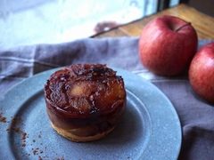 大満足りんごスイーツ、ヴィーガンタルトタタンの作り方