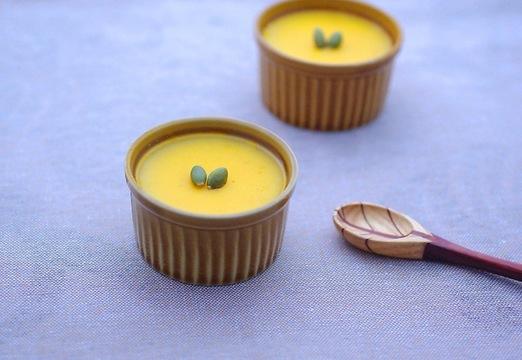 レンジで簡単かぼちゃプリンの作り方
