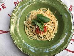 スパゲッティが食べたいな、と思い、簡単なのを作って食べた【こぐれひでこの「ごはん日記」】