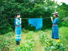 幻の染料「気仙沼ブルー」で作られるプロダクト