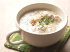 温め食材・生姜とれんこんのすりおろしスープレシピ