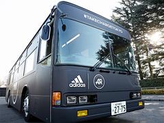 セッション場所に移動する!adidasの可動式ランベース登場