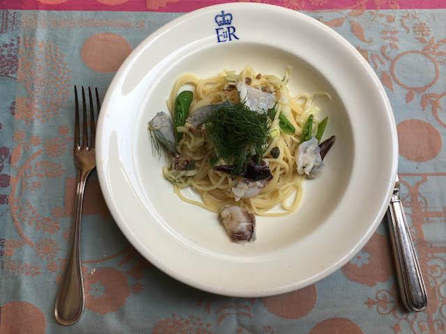 518.03.31昼スパゲッティ、トリ貝