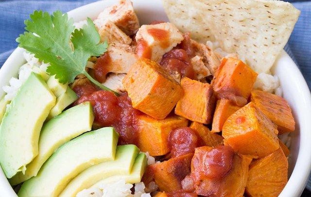 taco-chicken-burrito-bowls
