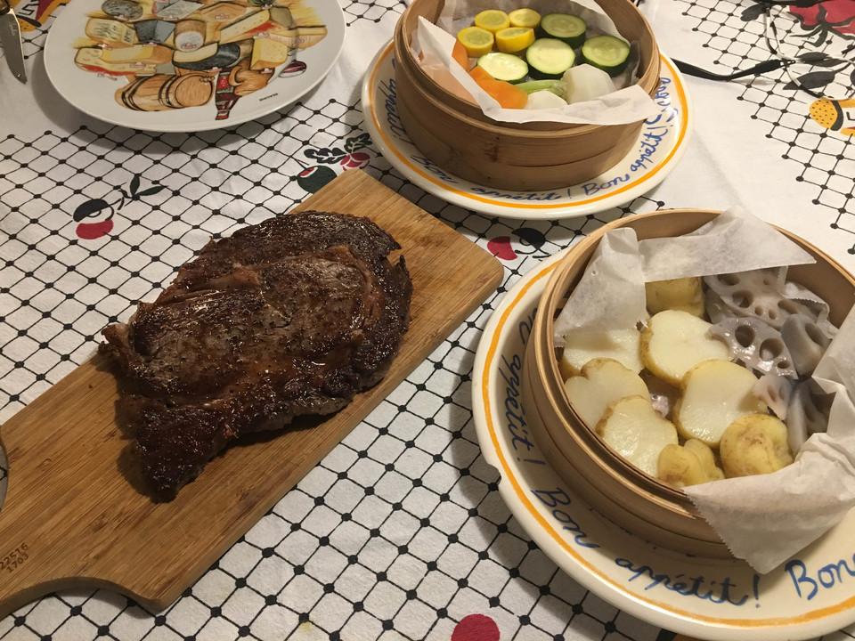 18.4.25夜steak