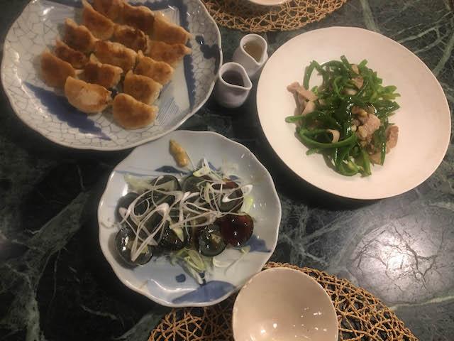 18.05.06夜焼き餃子