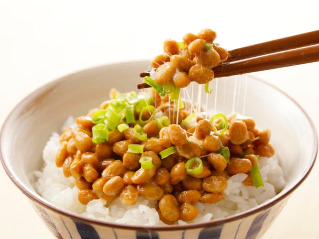 白米と納豆