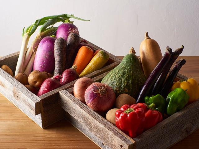 契約農家からの有機食材