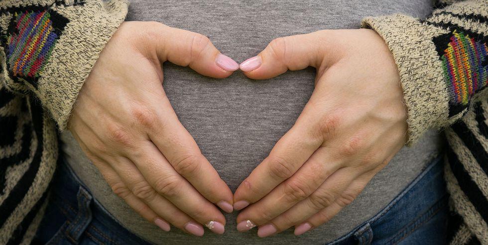 23妊娠している女性
