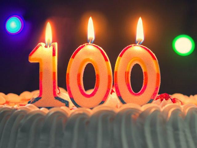 100歳ローソク