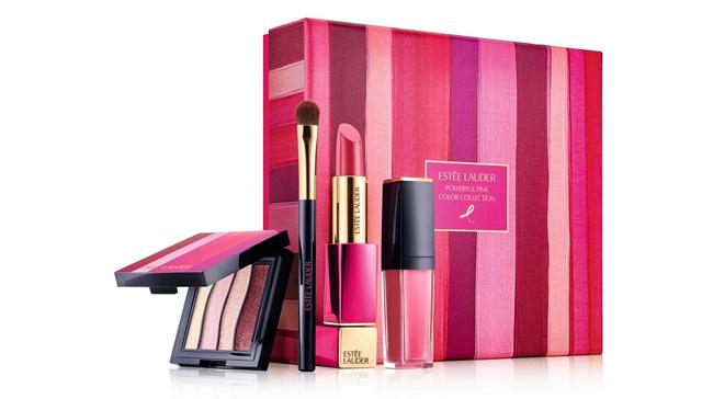 エスティ ローダー「パワフル ピンク カラー コレクション」