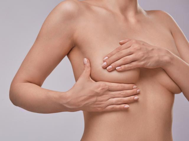 乳がんの自己触診