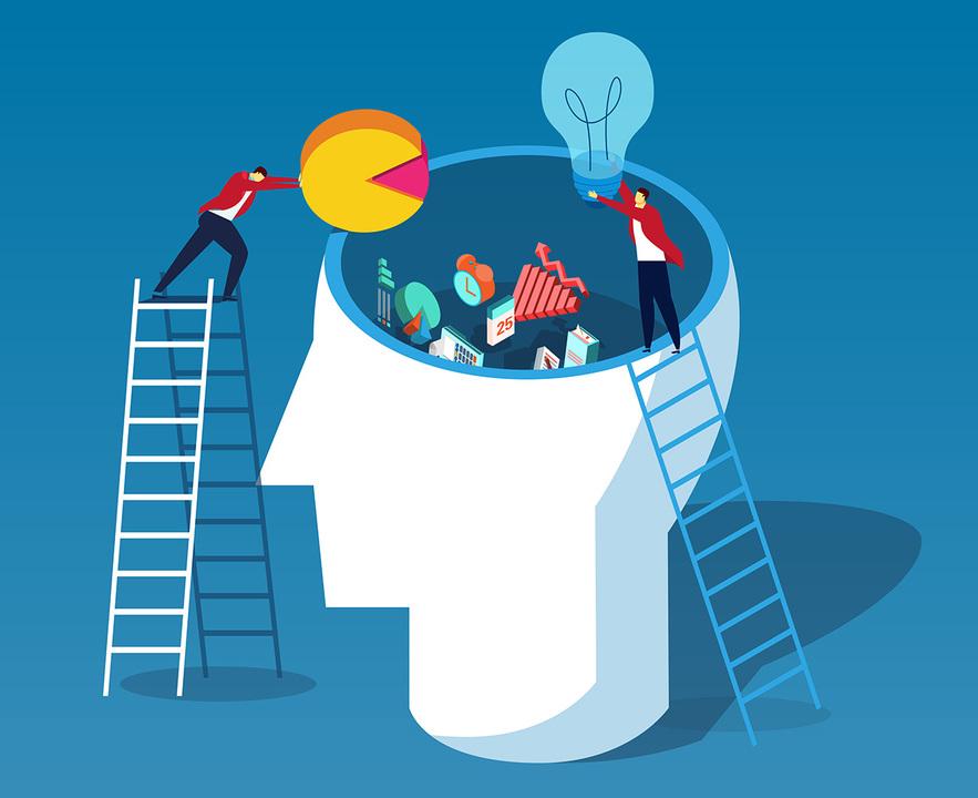 データやアイデアを頭の中に入れる