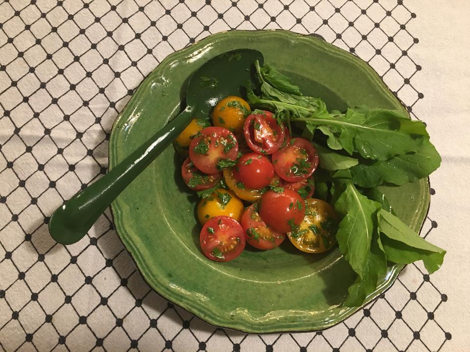 トマトとルコラ