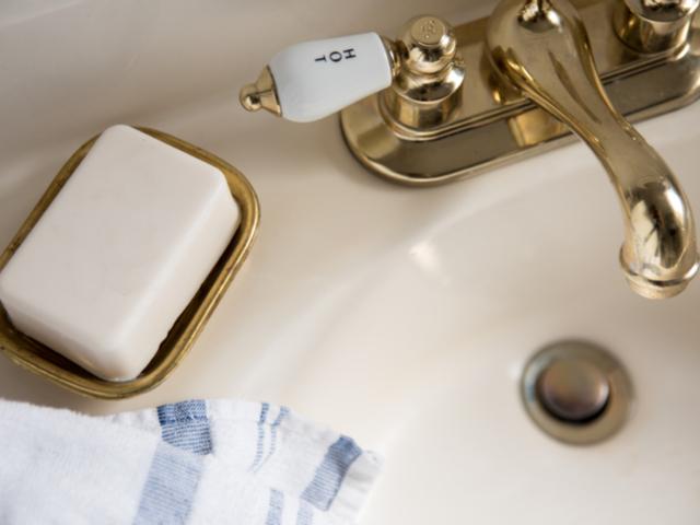 洗面の石鹸