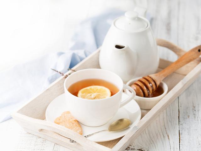 はちみつと紅茶