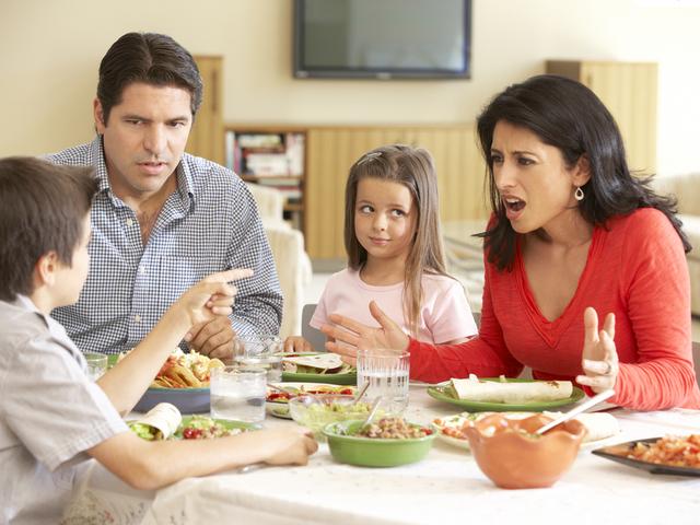 家族の喧嘩