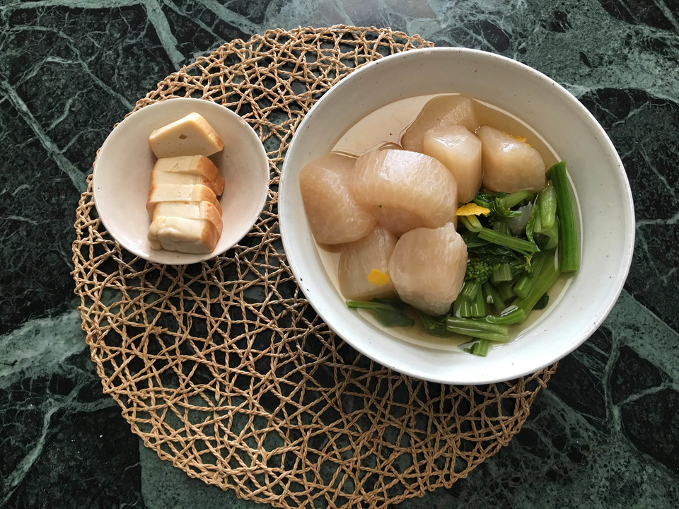 三浦大根の煮物