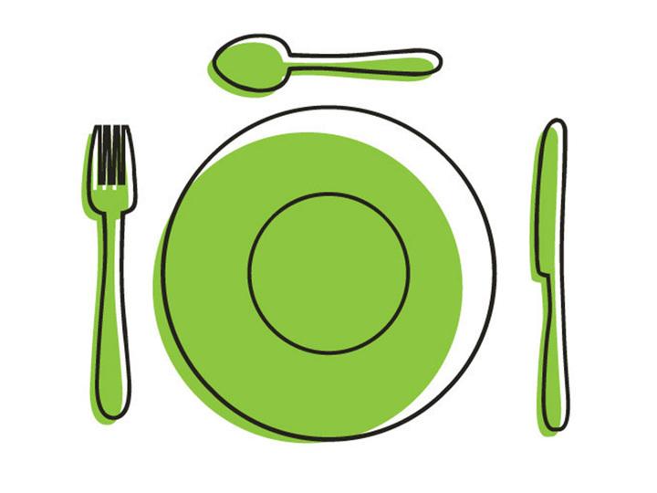 カトラリーとお皿