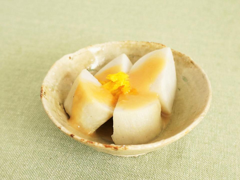 里芋のゆず味噌田楽
