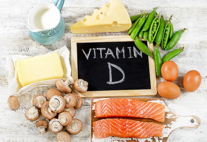 ビタミンDの食べ物