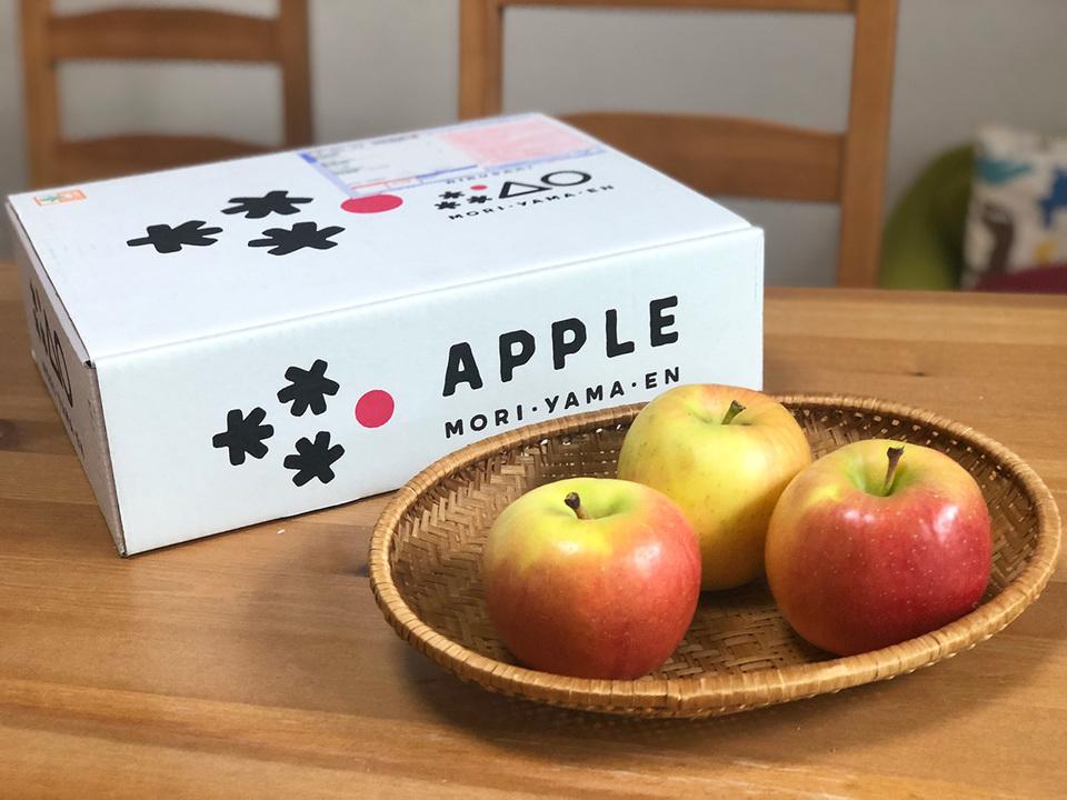 もりやま園さんのりんご「こうとく」