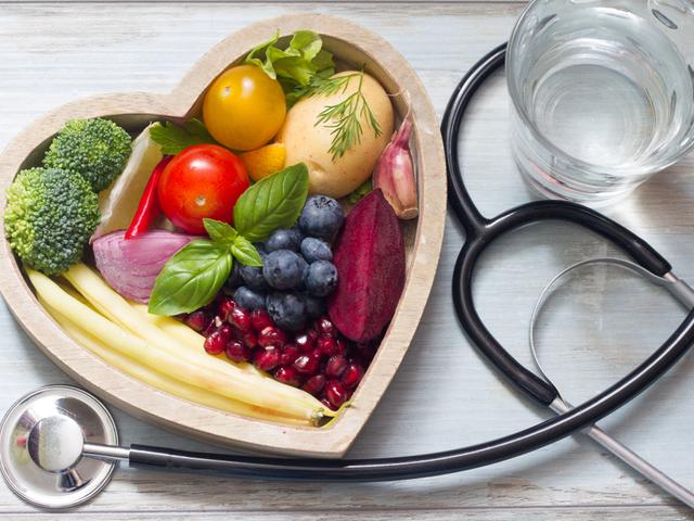 野菜と聴診器