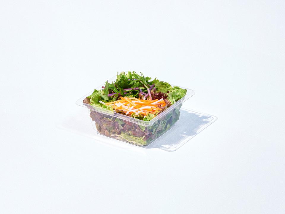 100%オーガニック 野菜サラダ 80g