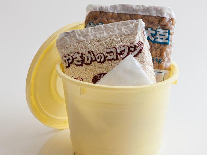 Oisixの手作り味噌Kit(味噌作り用樽つき)