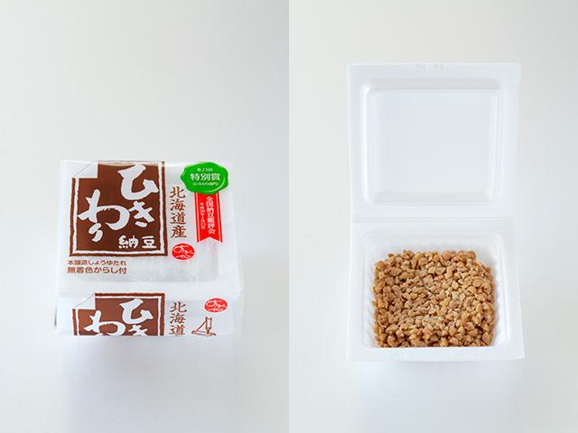 菅谷食品のひきわり納豆