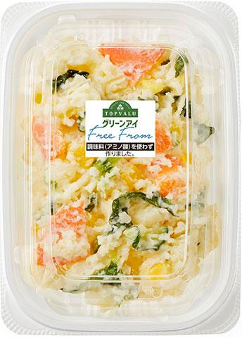 トップバリュ、こだわりの野菜ポテトサラダ