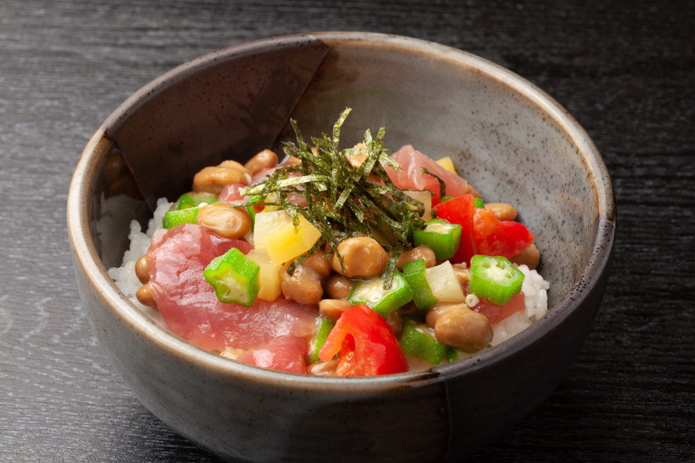 納豆マグロ丼