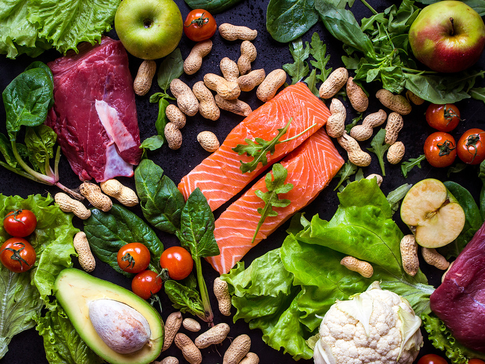野菜と肉と魚