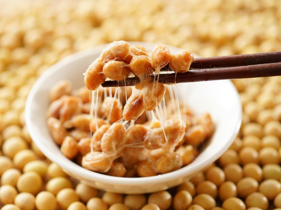納豆と大豆
