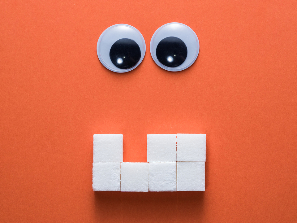 角砂糖の歯