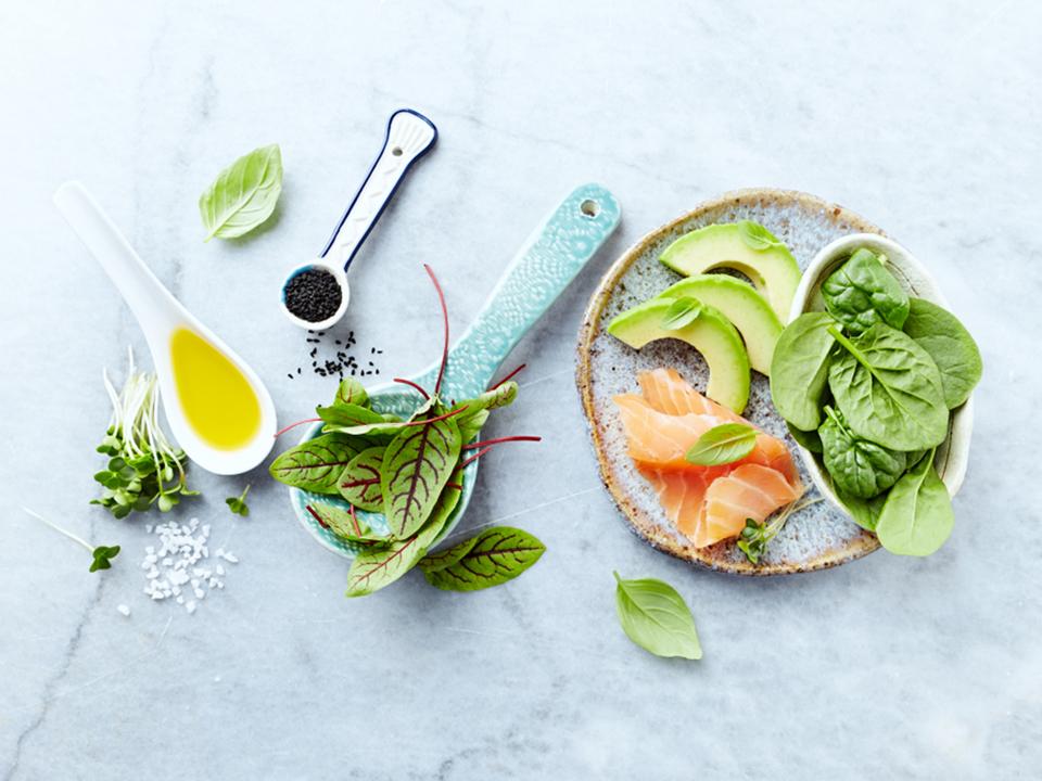 オリーブオイルと野菜